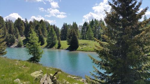 Lac de la cabane